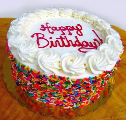 Picture of Signature Sprinkle Birthday Cake
